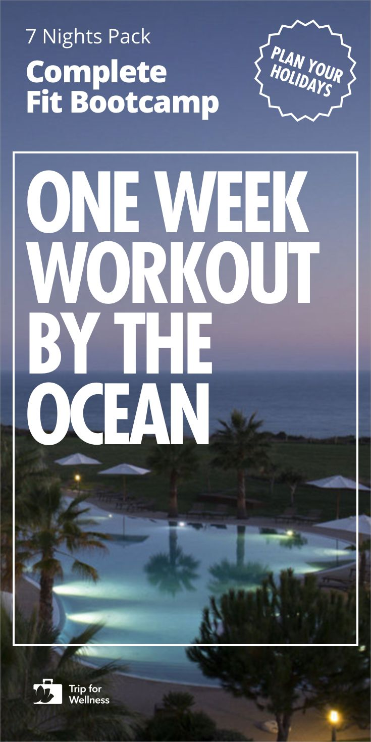 Enroll in this week long Fitness & Sports Bootcamp. Train & keep fit in this 5 start luxury hotel & spa by the Atlantic Ocean, walking distance to a beach distinguished by Condé Nast Traveller as one of the top 50 best beaches in the World, in Algarve. Program includes TRX, Obstacles, Running, Walking, Kayak, HIIT, Boxing cardio, Weightlifting and Stretching. Then, take a rest by the beautiful sunset in the heated outdoor pool. You won't find this travel anywhere besides Trip For Wellness.