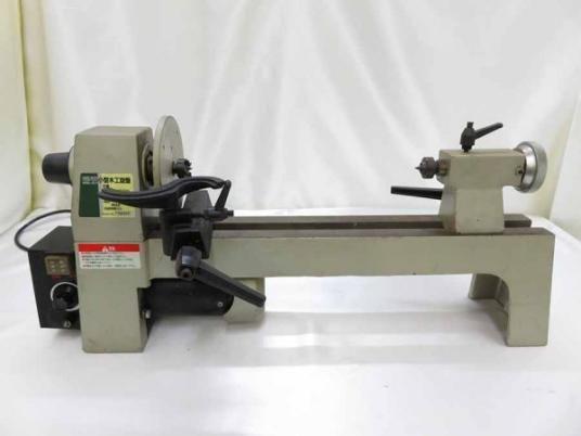 □HARD HEAD POWER TOOLS 小型木工旋盤 HWL-611 木工用機械 電動工具 ④