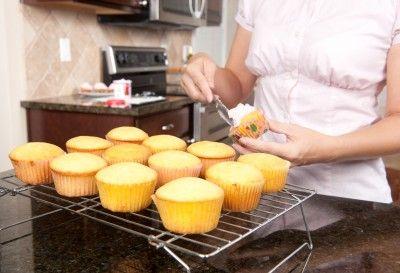 nemme cupcakes med vanille