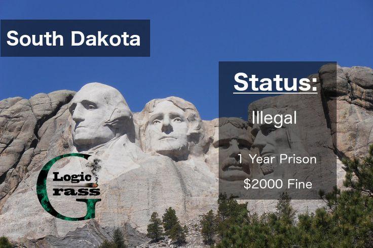Check out the legal status of marijuana in South Dakota #marijuanalegalization #cannabiscommunity