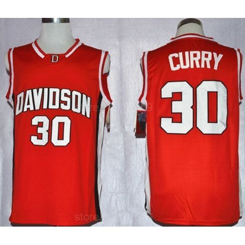 on sale 29035 48fa5 Davidson Wildcats Stephen Curry #30 Basketball Players ...