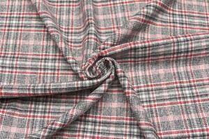 イタリア製【AGNONA/アニオナ】ピュア・ウールフランネル・タッチチェック柄ジャケットコート着分1.8m単位生地・布【10P12Oct14】
