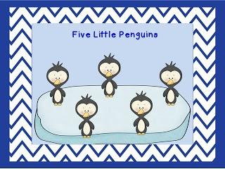 Five Little Penguins Movie