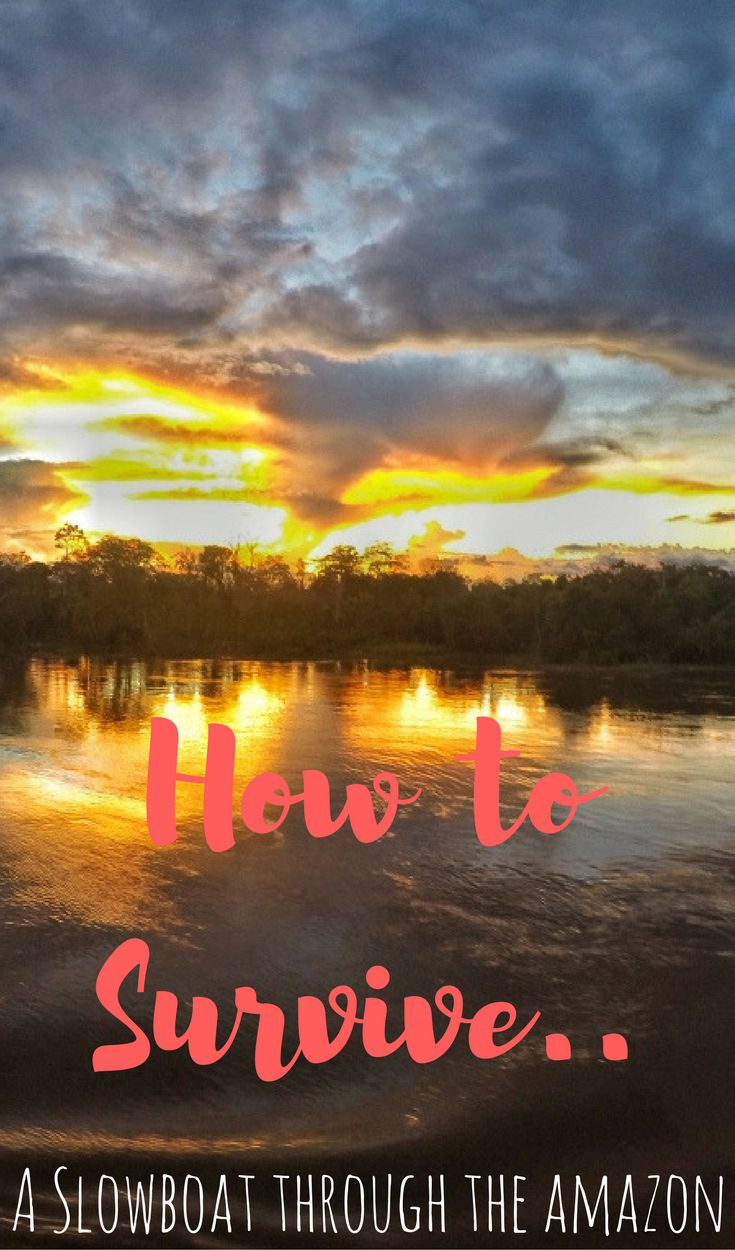 A list of our top 14 tips for a successful slow boat journey through the Amazon in Brazil
