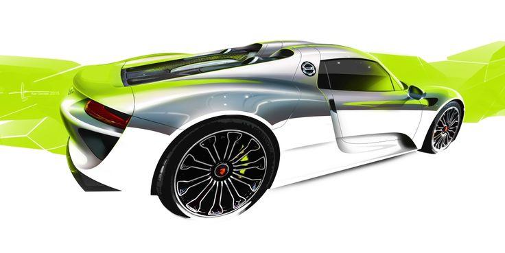 Porsche+918+Alan+Derosier.jpg (imagem JPEG, 1200 × 602 pixels)