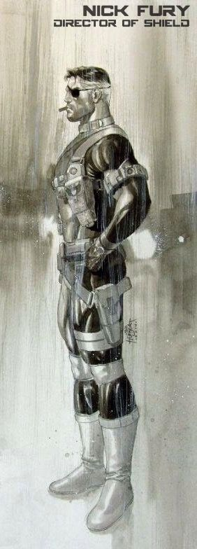 Nick Fury, Director of SHIELD by Jack Herbert *