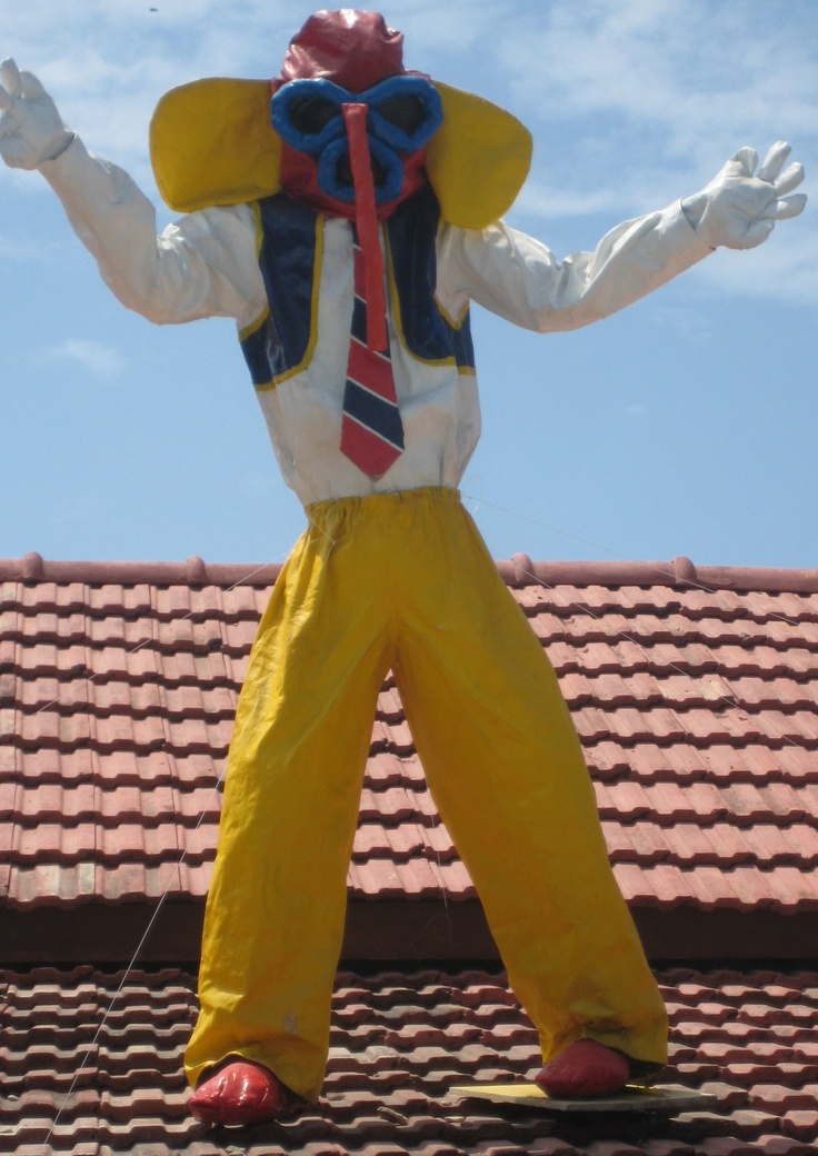 Barranquilla - Marimonda I have family members that dress up in that and dance during the Carnavales - P