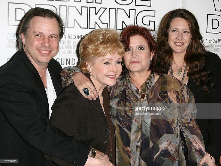 Todd Fisher, Debbie Reynolds, Carrie Fisher and Joely Fisher 'Wishful Drinking' - Los Angeles Premiere at Linwood Dunn Theater at the Pickford Center for Motion Study on December 7, 2010 in Hollywood, California.
