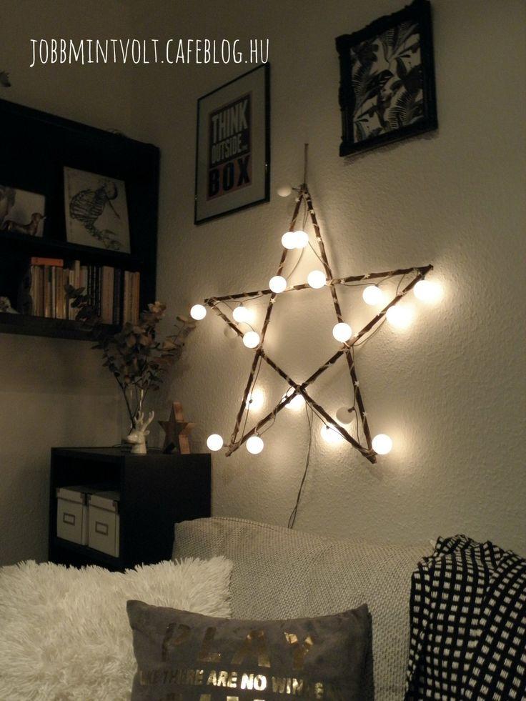 DIY christmas decor star