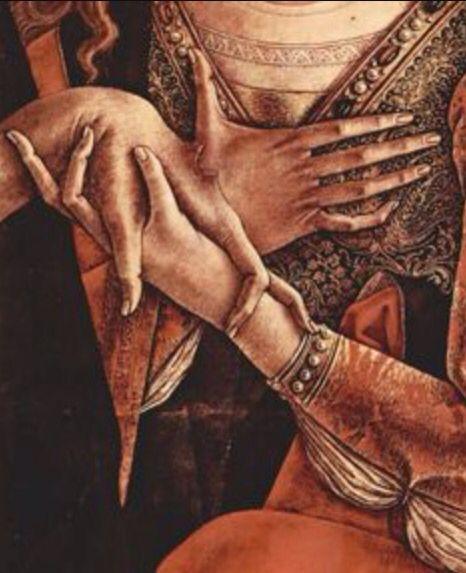 Carlo Crivelli - Pietà (Detail)