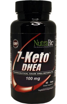 7-KETO   Recommended dose for weight loss is 100 mg per serving.