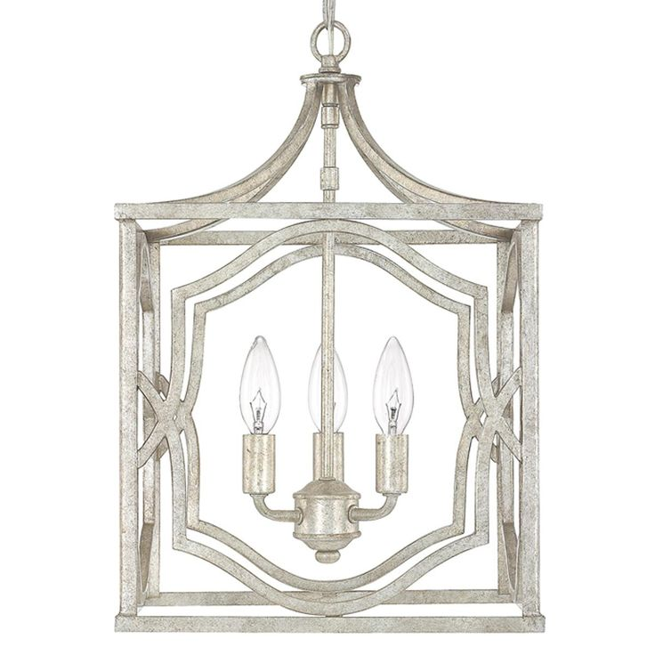 Modern Fretwork Frame Lantern Small Kitchen Island Light Fixtureskitchen