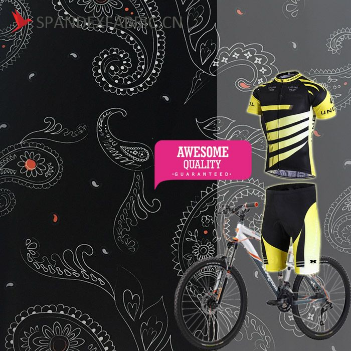 Polyester Spandex Blend Cycling Wear Fabric | Spandex Fabric China