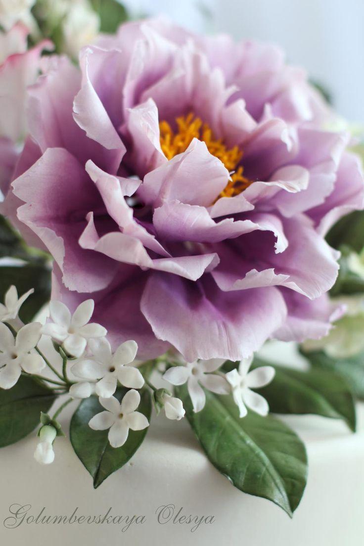 925 Best Fondant Flowers Images On Pinterest Sugar Flowers