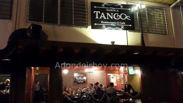 Sabor a Tango es el nuevo restaurante de comida argentina, ubicado al costado oeste de Teletica Canal 7 con excelente comida y buenos precios.