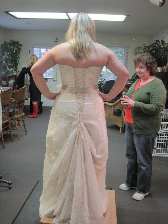 Weddingbee boards ...stop those unsightly back bulges RoadToGoal.com