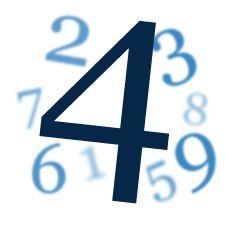 Wibracja numerologiczna liczby 4. - Tarot Numerlologiczny