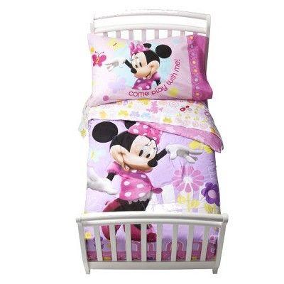 Best Disney® Minnie Mouse Bedding Set Toddler Target Mobile 640 x 480