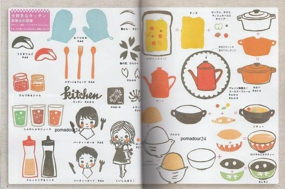 Japanese Book on rubber stamping
