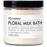 Flroal Milk Bath design by Fig and Yarrow