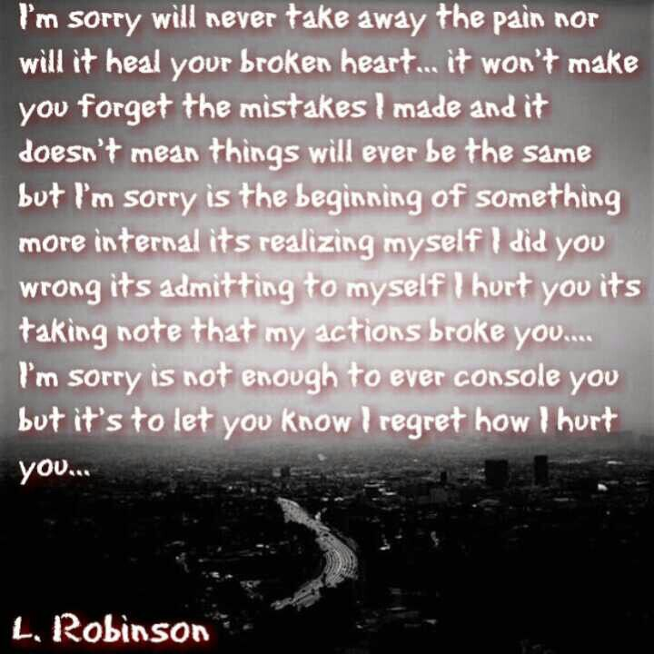 Sorry Love Quote: Best 25+ Saying Sorry Quotes Ideas On Pinterest