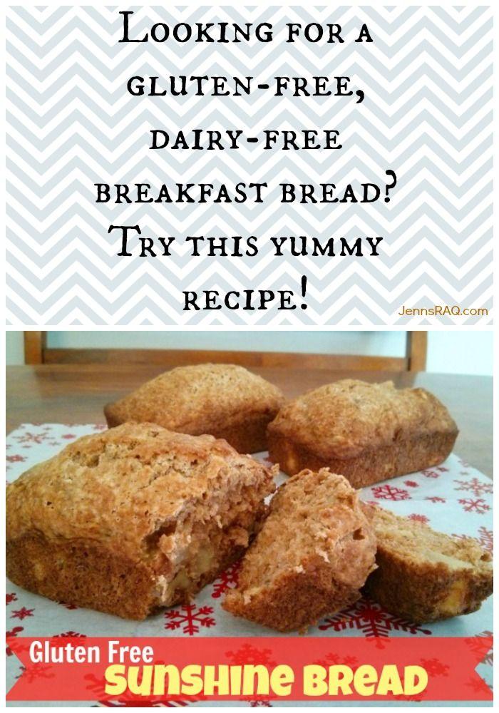 Gluten Free Sunshine Bread Recipe as seen on jennsRAQ.com