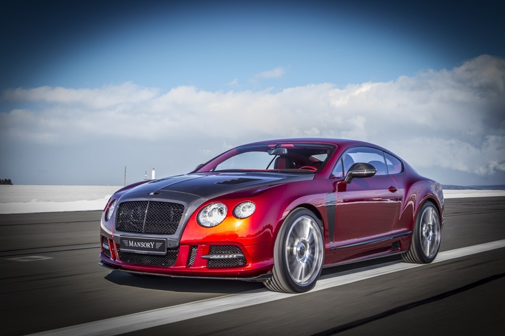 Mansory Sanguis aka Bentley GTC, I love the color RED (the exterior, not the interior)