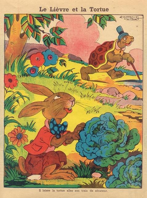 Le Iièvre et la tortue