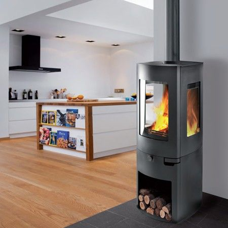 8 best ofen images on pinterest fire places fireplaces and wood burning stoves - Comparatif poele cuisine ...