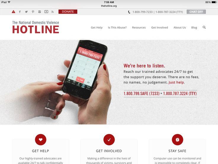 Domestic Abuse Hotline & website