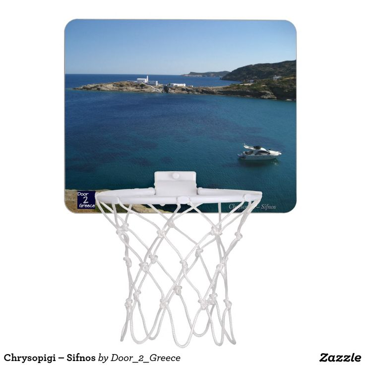 Chrysopigi – Sifnos Mini Basketball Hoop