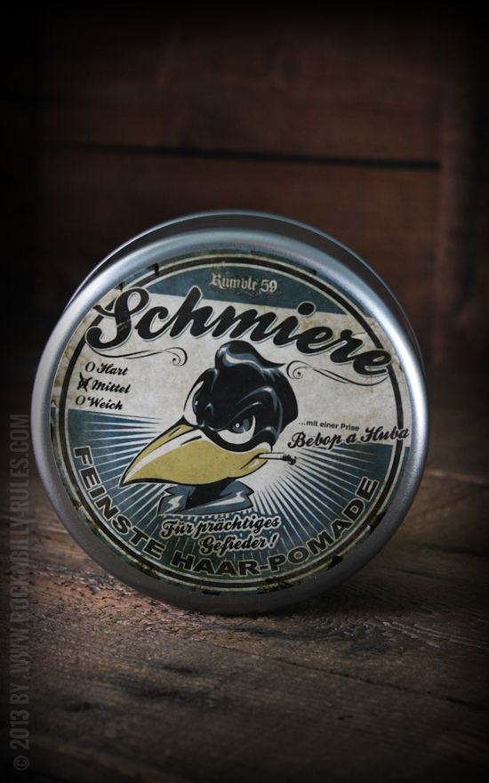 Rumble59 - goo - pomade medium had to pin this cause its a little odd don't you think? PD