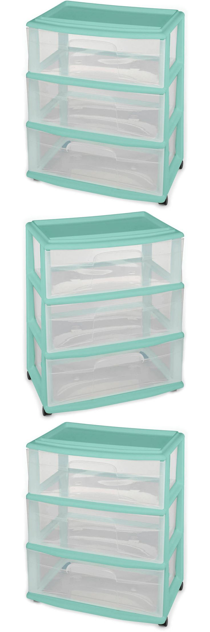 wide craft decorators drawer white home cart drawers in p small storage collection stanton