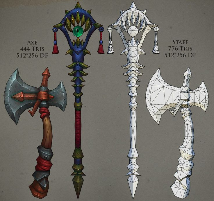 Weapons 01 by ~FirstKeeper on deviantART