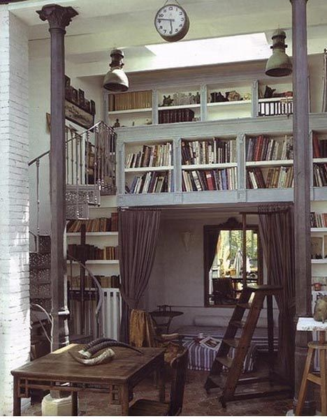 books <3: Bookshelves, Spirals Staircases, Stairs, Home Libraries, Book Nooks, Loft, Reading Nooks, Small Spaces, Rooms
