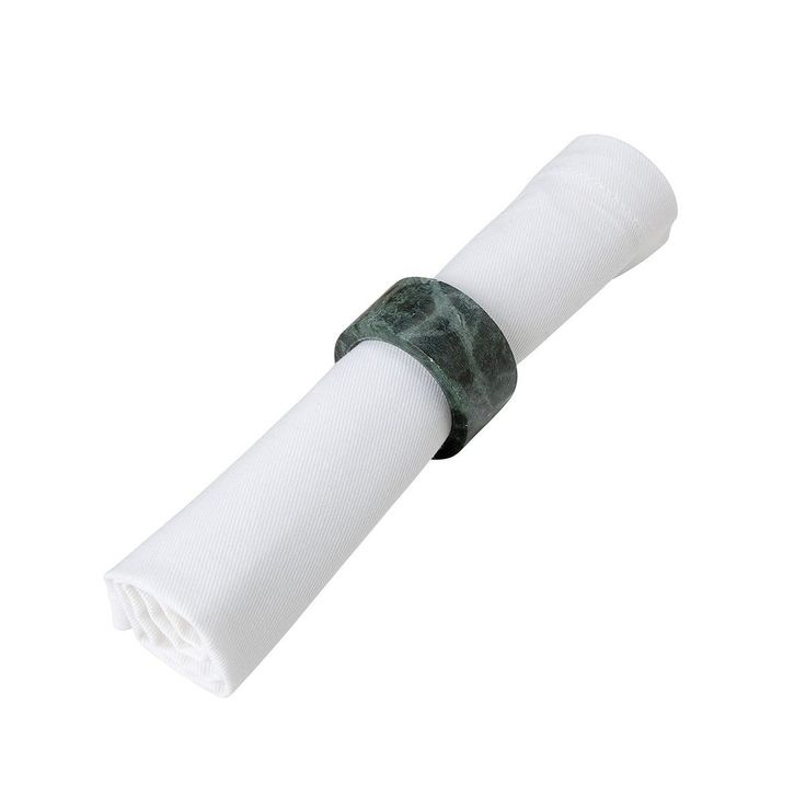 Lot 2 Ronds De Serviette En Marbre Marble – Taille : Taille Unique