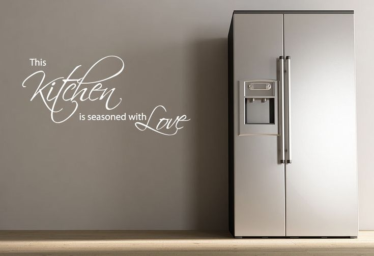 Best 25 kitchen wall stickers ideas on pinterest dining for Dining room wall quote decals