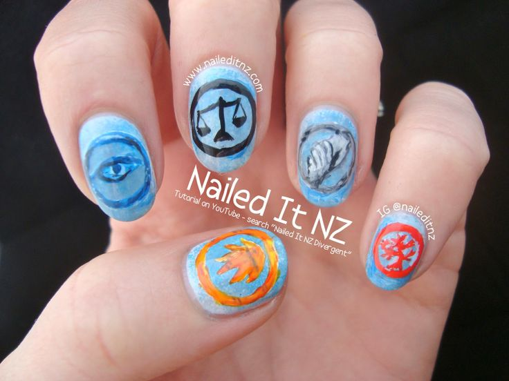 Best 25 divergent nails ideas on pinterest bird nail art nailed it nz divergent nail art tutorial httpnaileditnz prinsesfo Image collections