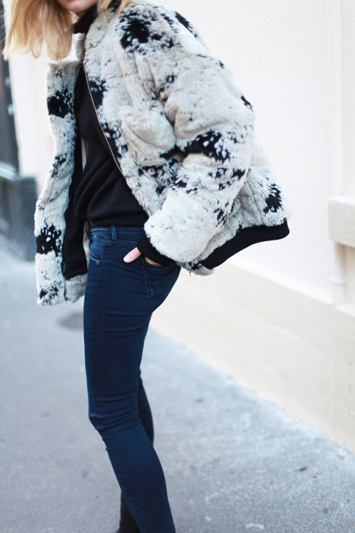 denim & Carin Wester. #Adenorah in Paris.