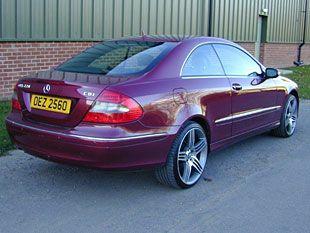 Mercedes CLK 220 CDi Automatic Tiptronic.