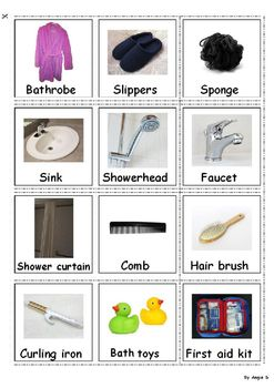 Autism & Special Needs Communication Cards -Bathroom Accessories, for more…