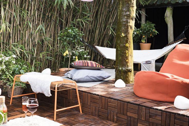 17 beste afbeeldingen over buiten op pinterest balkons tuin en decoratie. Black Bedroom Furniture Sets. Home Design Ideas