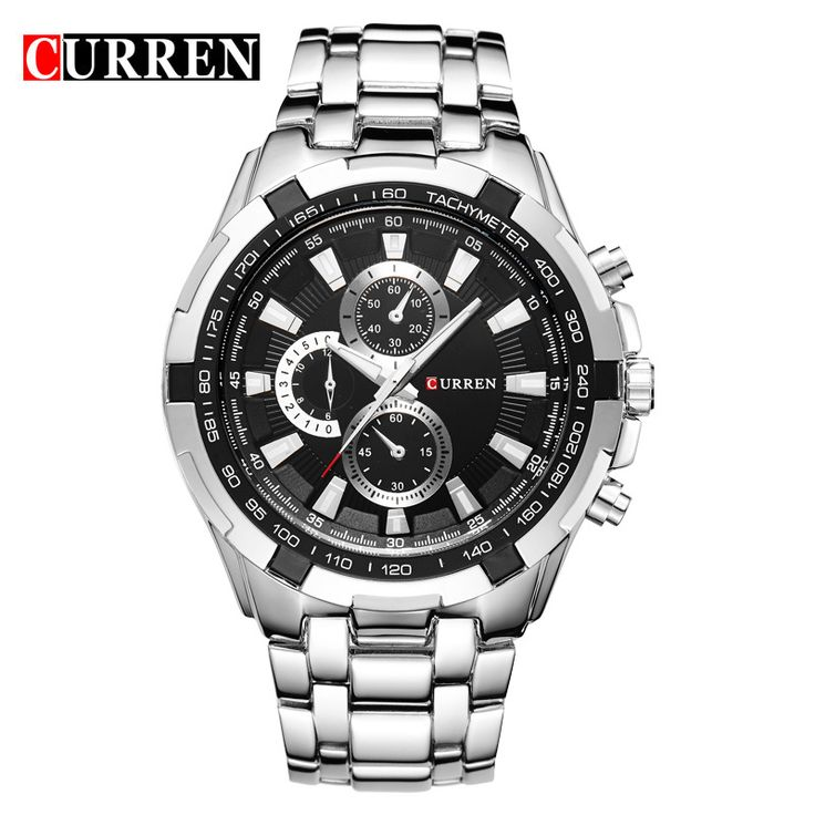 2016 new curren brand design man male business sport clock casual steel military classic outdoor wrist quartz luxury gift watch #>=#>=#>=#>=#> Click on the pin to check out discount price, color, size, shipping, etc. Save and like it!