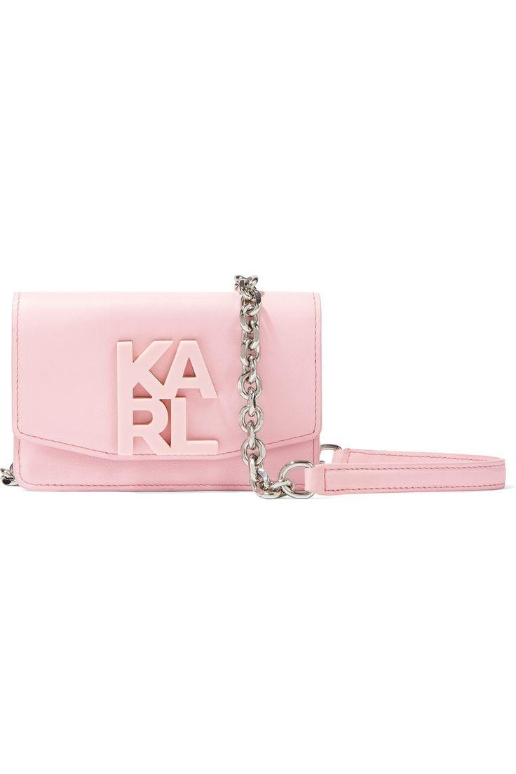 KARL LAGERFELD Mini leather shoulder bag