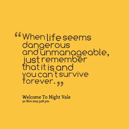 Welcome To New Life Quotes: Welcome To Night Vale Inspirational Quotes