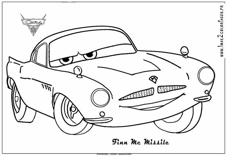 ausmalbilder kostenlos cars 02