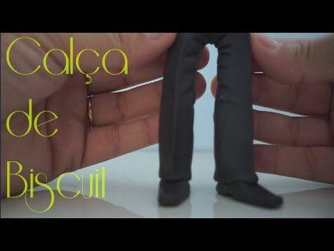 Calça de Biscuit para noivo humanizado - YouTube