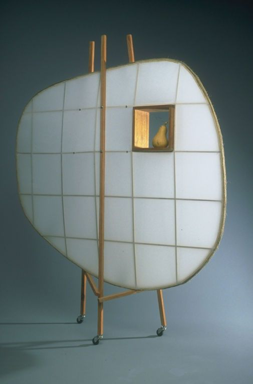 Russell Buchanan; Dacron and Maple 'Grasshopper Screen', 1993.
