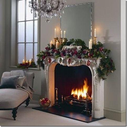 Christmas Burlap Garland