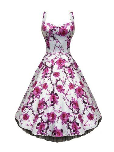 Lafrock 'Jive' Swing Dance Vintage Prom Dress: Amazon.co.uk: Clothing